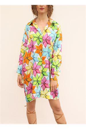 pure silk shirt with star pattern La Dolce vista | 6 | CAMICIONESTARMULTICOLOR