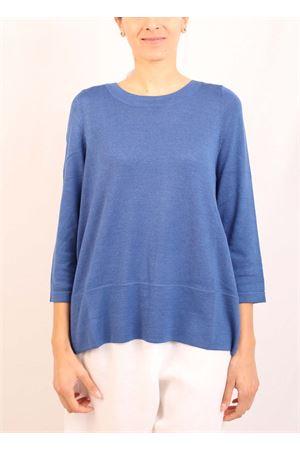 maglia in cachemire azzurro Laboratorio Capri | 7 | 01SVAACHILLE