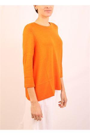 maglia in cachemire arancione Laboratorio Capri | 7 | 01SVAARANCIO