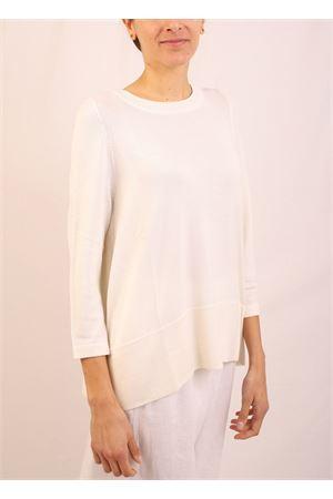 maglia in cachemire bianco Laboratorio Capri | 7 | 01SVACANDIDO
