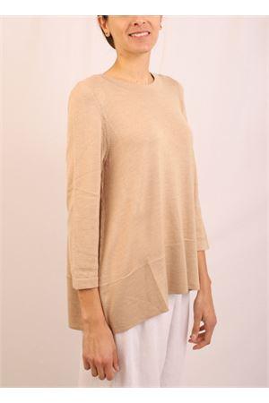sand cashmere sweater  Laboratorio Capri | 7 | 01SVAGONG
