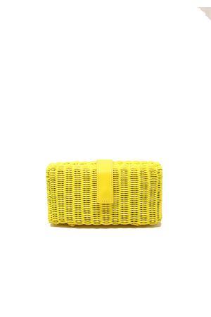 Yellow wicker cluth  shoulder strap Laboratorio Capri | 31 | 171YELLOW