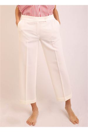 Pantaloni capri bianchi Laboratorio Capri | 9 | DANDYCREPELATTE