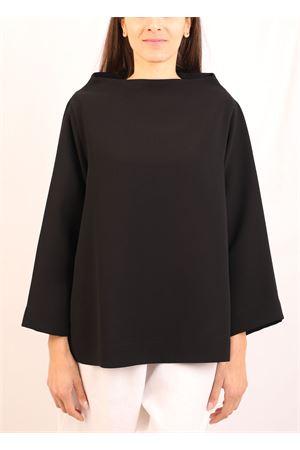 maglia in microfibra giapponese nera Laboratorio Capri | 7 | KLIMTNERA