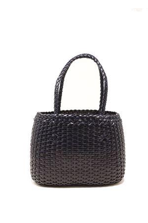 Handcrafted bag in 100% navy blue leather Laboratorio Capri | 31 | LAB52BLUENAVY
