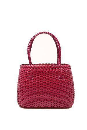 Handcrafted bag in 100% fuchsia leather Laboratorio Capri | 31 | LAB52FUCSIA