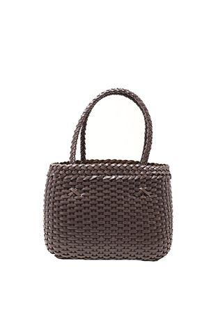 Handcrafted bag in 100% brown leather Laboratorio Capri | 31 | LAB52MOSS
