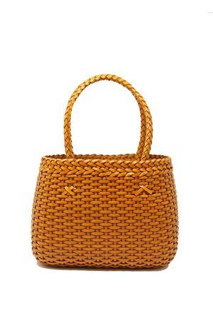 100% leather bag ocra yellow Laboratorio Capri | 31 | LAB52OCRA