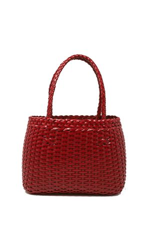 Handcrafted bag in 100% red leather Laboratorio Capri | 31 | LAB52RED