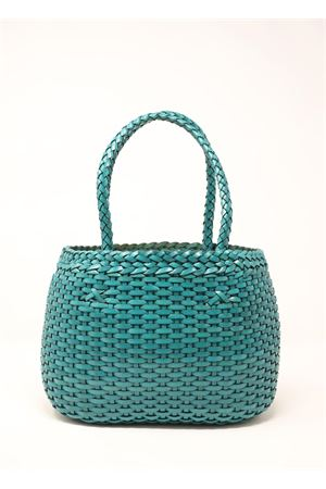 Handcrafted bag in 100% turquoise leather Laboratorio Capri | 31 | LAB52TURCHESE