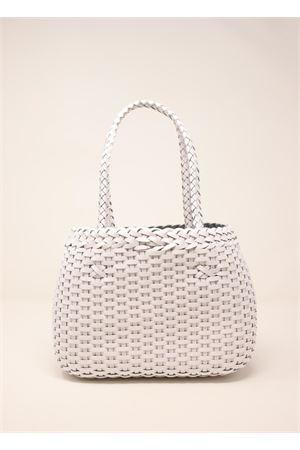 Handcrafted bag in 100% white leather Laboratorio Capri | 31 | LAB52WHITE