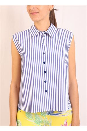 Sleeveless flared shirt Laboratorio Capri | 6 | MONETARIGAAZZURRA