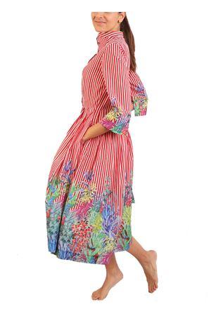 Striped shirt dress Laboratorio Capri | 5032262 | PIAZZETTARIGAAZZ