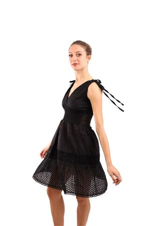 San gallo black dress M&E | 5032262 | ABITOELENANERO