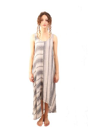Long linen dress M&E | 5032262 | ABITOGIORGIARIGONEGREZZO