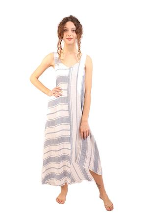 Long linen sleeveless dress M&E | 5032262 | ABITOGIORGIARIGONEJEANS