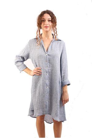 Longuette linen dress M&E | 5032262 | ABITOSMERALDAJEANS