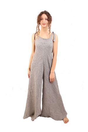 tuta in lino con ampio pantalone M&E | 19 | TUTACARLAMILLERIGHEGREZZO