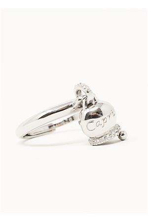 Adjustable ring with silver bell Manè Capri | 5032250 | ANELLOCAPRICAPRI