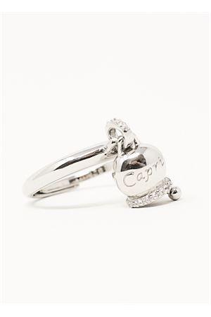 Anello con campanella in argento regolabile Manè Capri | 5032250 | ANELLOCAPRICAPRI