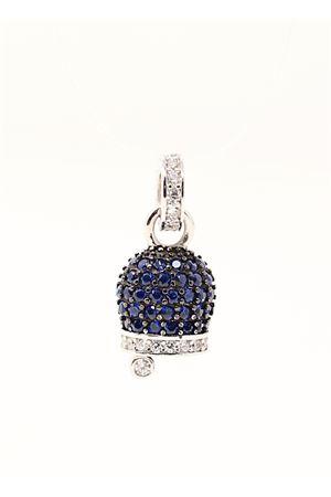 Blue Capri bell charm in silver  Manè Capri | 20000055 | MANE2ZIRCBLUCAPRI