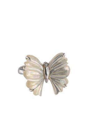 anello a forma di farfalla Mediterranee Passioni | 5032250 | ANELLOCRISALIDEBIANCO