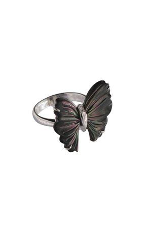 Silver chrysalis ring Mediterranee Passioni | 5032250 | ANELLOCRISALIDENERO