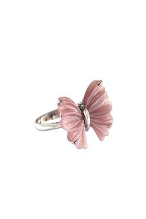 Pink butterfly ring Mediterranee Passioni | 5032250 | ANELLOCRISALIDEROSA
