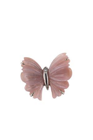 •Pink butterfly pendant Mediterranee Passioni | 5032249 | CIONDOLOCRISALIDEROSA