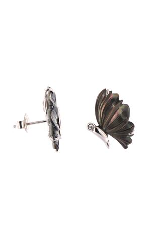 •Butterfly-shaped earrings Mediterranee Passioni | 48 | ORECCHINICRISALIDENERO