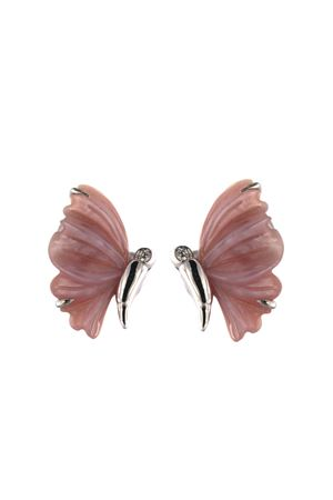 Pink butterfly earrings Mediterranee Passioni | 48 | ORECCHINICRISALIDEROSA