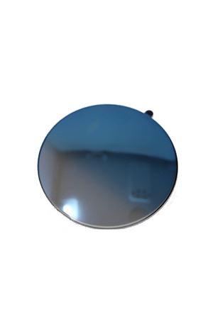 occhiali da sole artigianali con lenti blu specchiate Medy Ooh | 53 | NERUDANEROBLU
