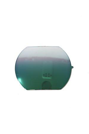 occhiali da sole artigianali con lenti verdi specchiate Medy Ooh | 53 | NERUDANEROVERDE