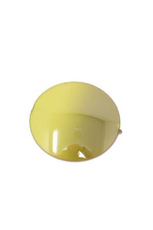 occhiali da sole artigianali con lenti gialle Medy Ooh | 53 | TIBERIO1NEROGIALLO