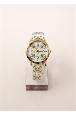 orologio con maioliche Mizzica Time | 60 | MB106BIANCO