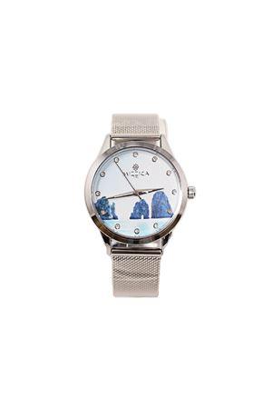 Watch with Faraglioni and steel strap Mizzica Time | 60 | MC152ACCIAIO