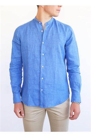 camicia uomo coreana blu Portofiori | 6 | E1909BLU