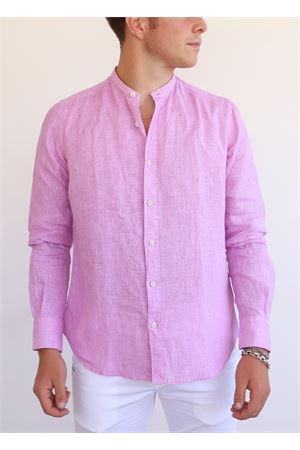 camicia coreana uomo rosa Portofiori | 6 | E1909ROSA