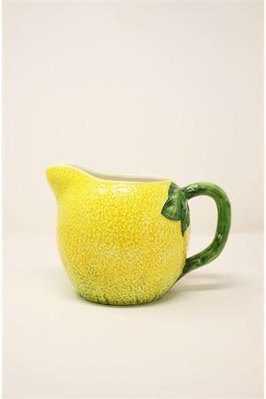ceramic pitcher in the shape of a lemon Sea Gull Capri | 20000026 | BROCCALIMONEGIALLO