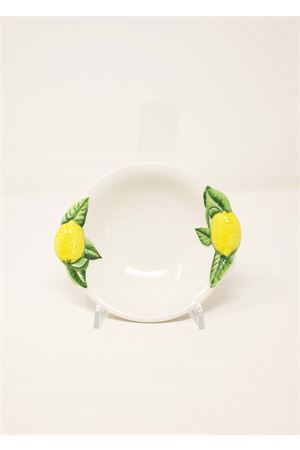 ceramic cup decorated with lemons Sea Gull Capri | 5032235 | COPPETTALIMONEBIANCO