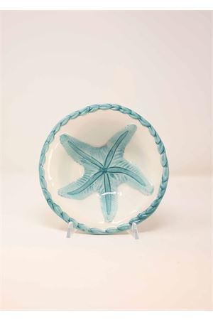 painted starfish ceramic bowl Sea Gull Capri | 5032235 | COPPETTATURCHESE