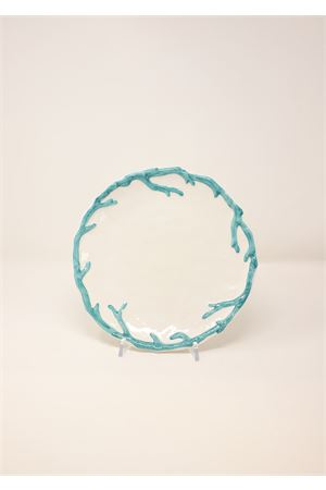 turquoise fruit plate Sea Gull Capri | 5032235 | PIATTOFRTTURCHESE