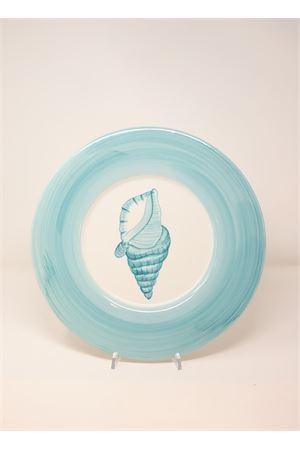 turquoise ceramic underplate Sea Gull Capri | 5032235 | SPTTURCHESE