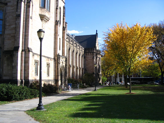 yale campus map