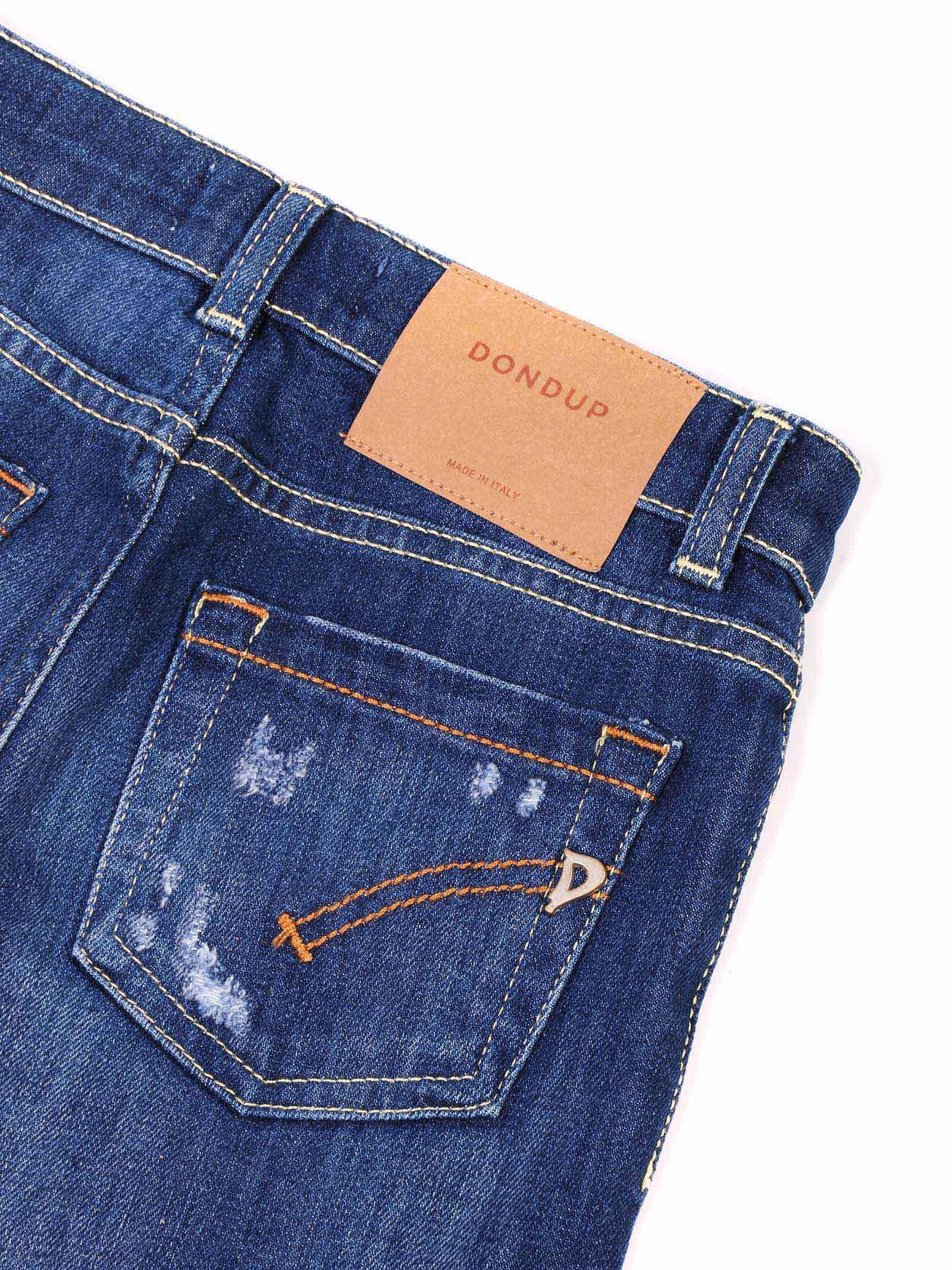 jeans denim con rotture Dondup   Pantalone   YP328 DS0107 AU6 GD W20800