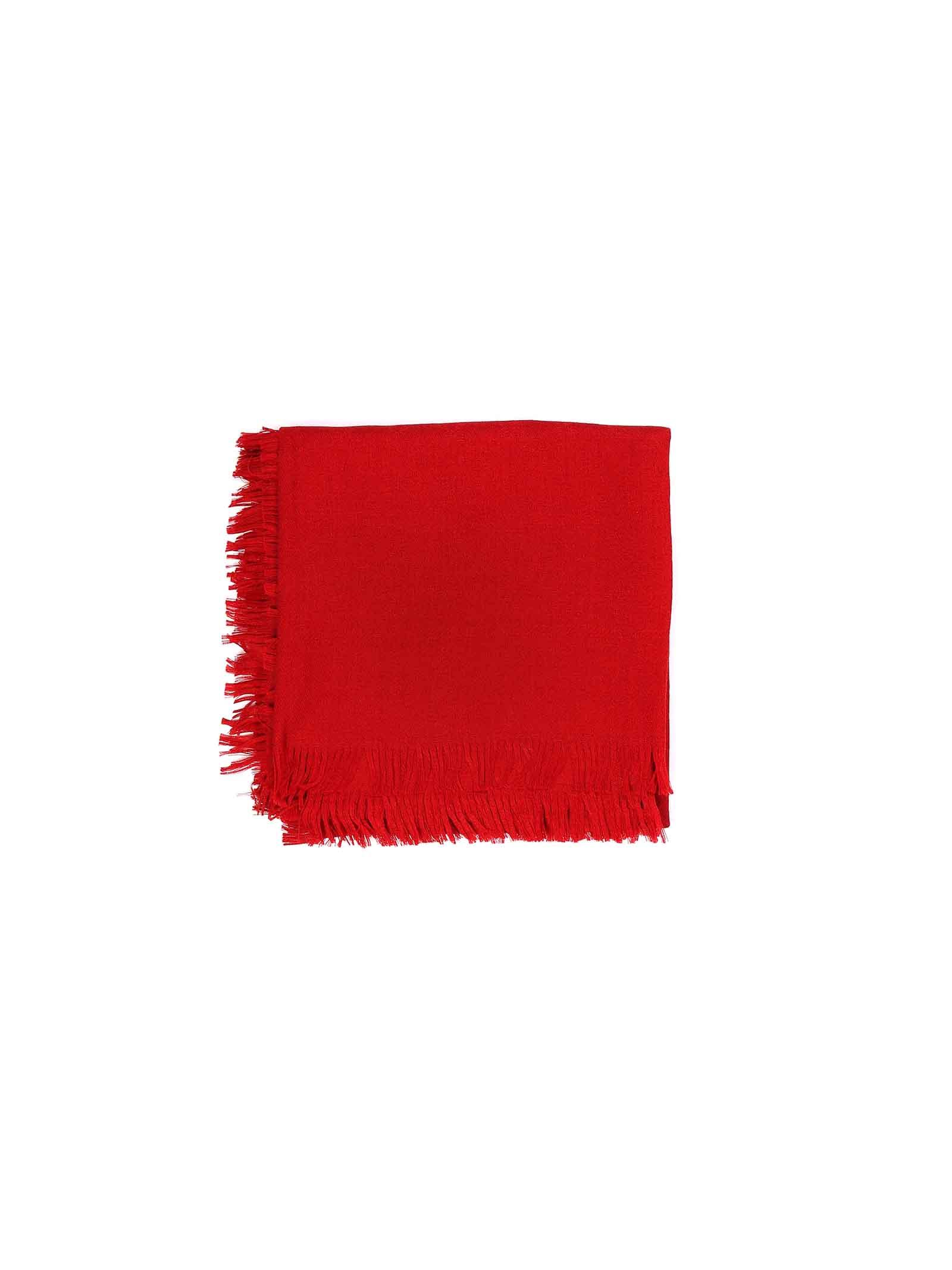 kefiah rosso logata Gucci | Sciarpa | 4182216400