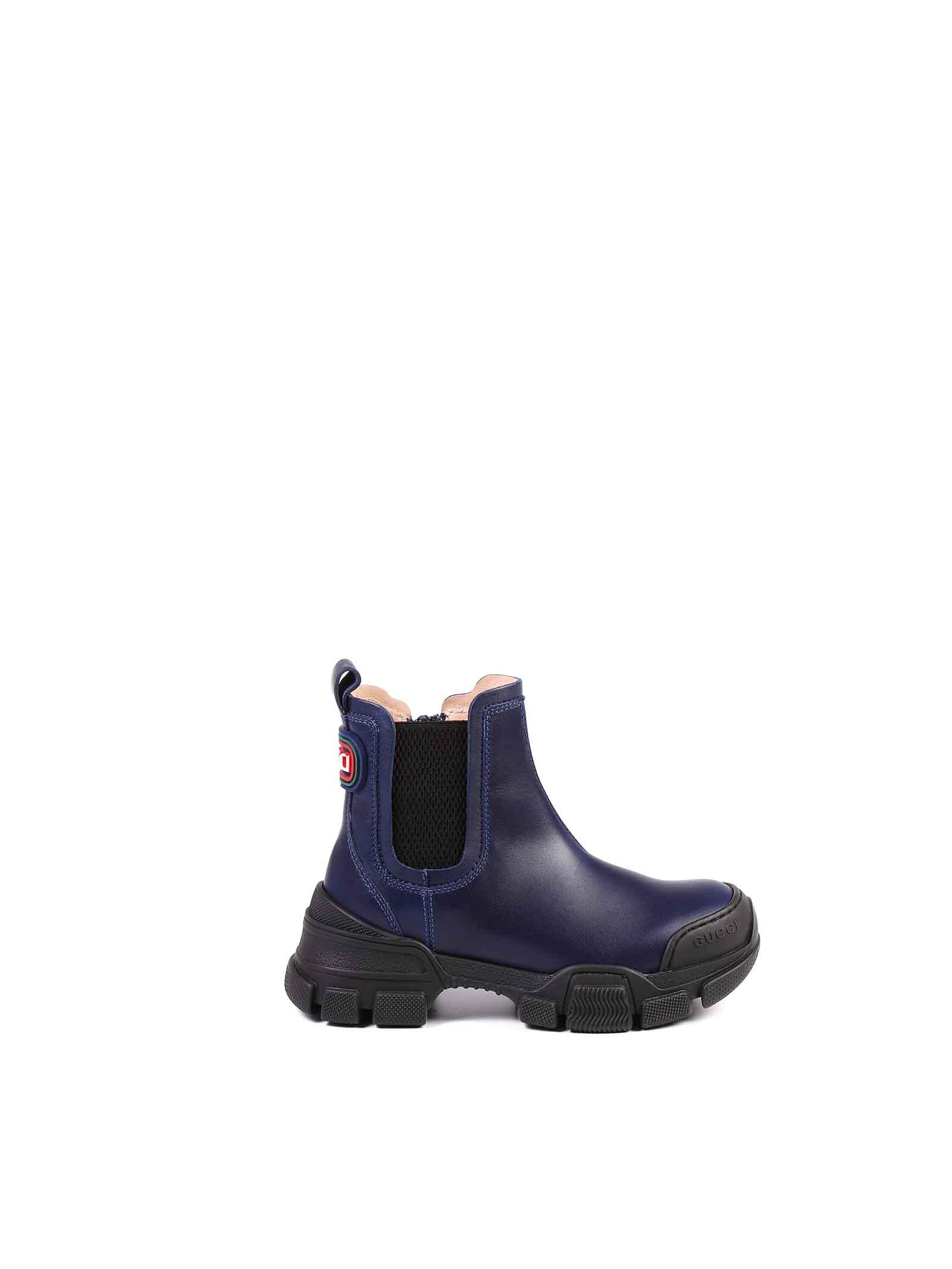 stivaletto blu Gucci | Stivali | 629739 DTN504561