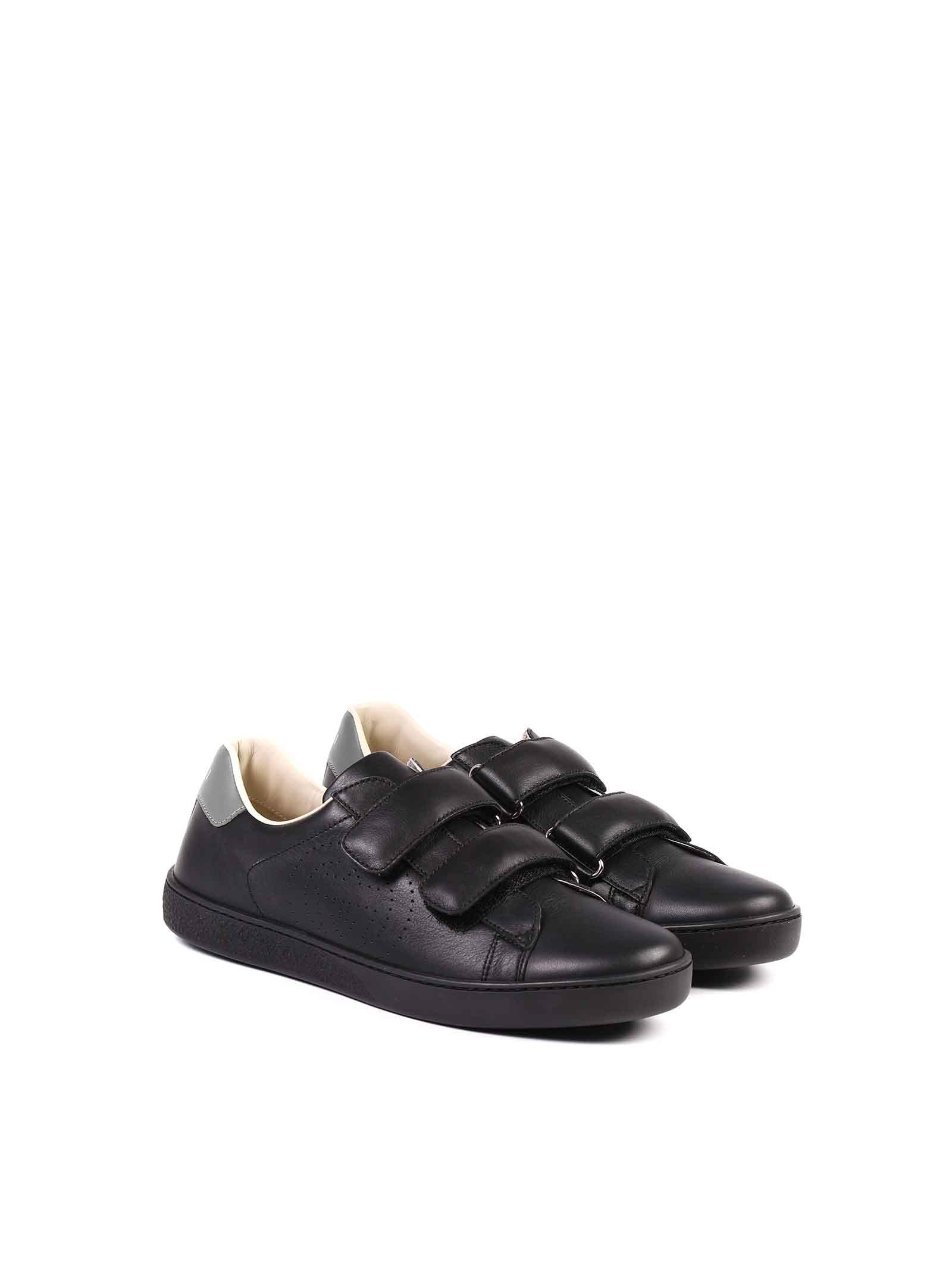 scarpe nere Gucci   Scarpe   630619 BLN701065