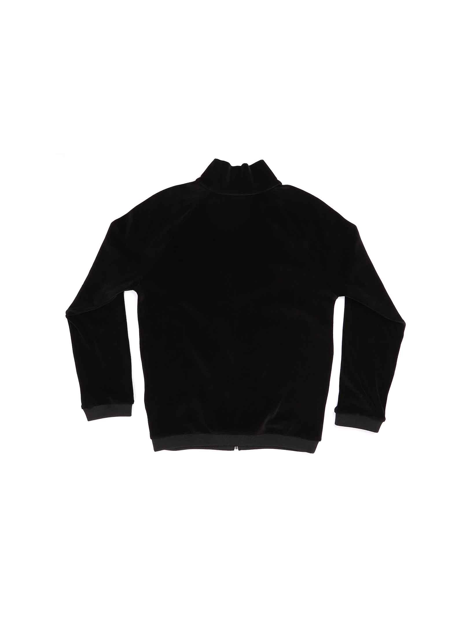 felpa ciniglia nero con logo Gucci | Felpa | 631031 XJCT71043