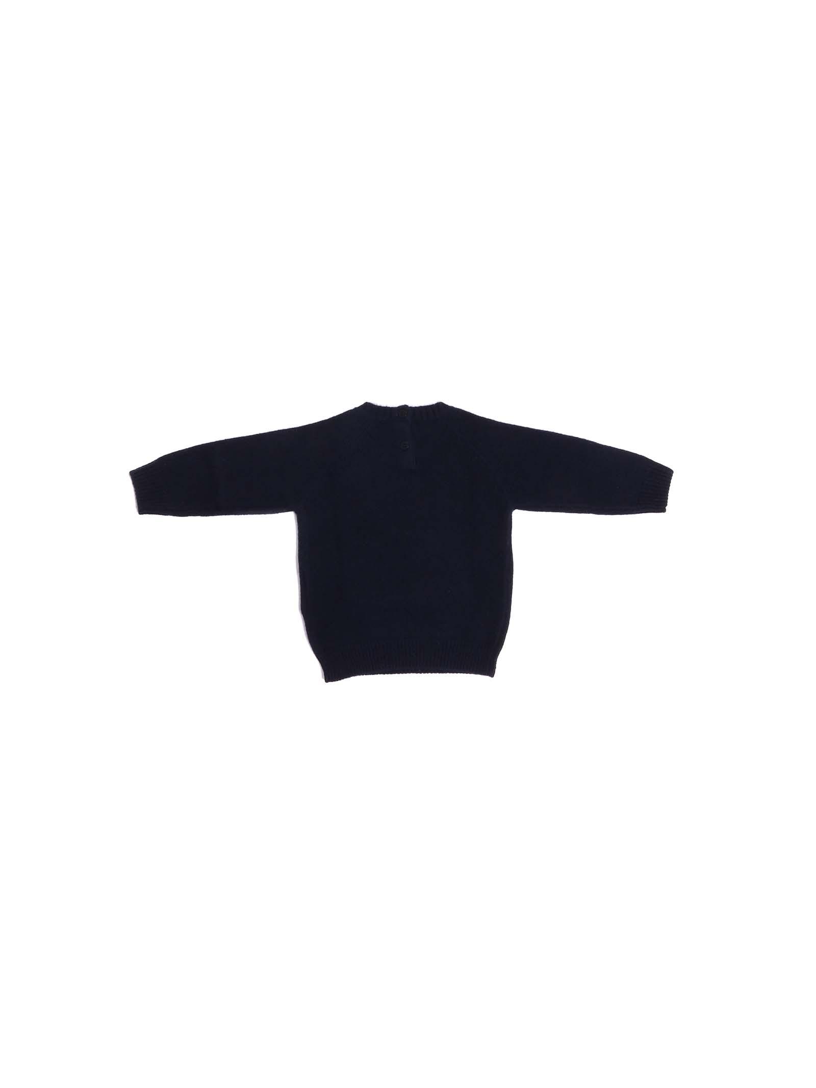 maglia blu con orsetto IL GUFO | Maglia | A20MA334EM2204937